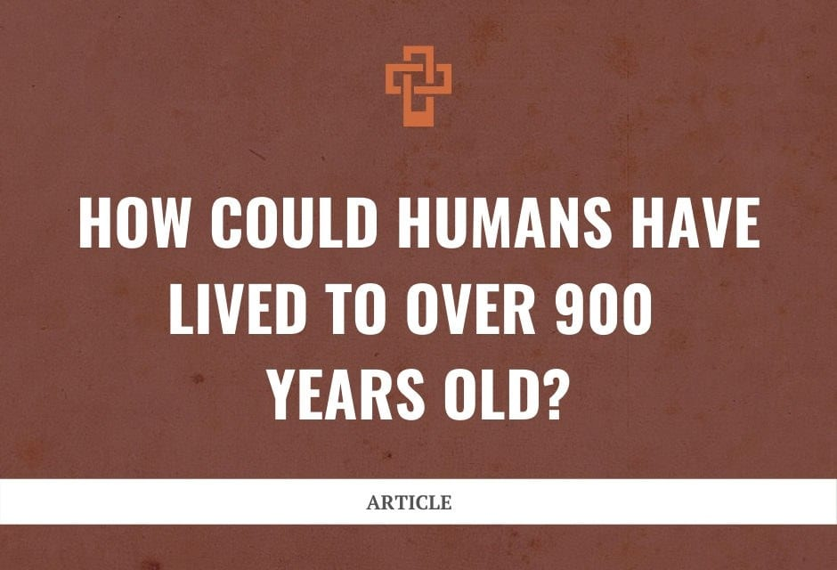 How Could Humans Have Lived to Over 900 Years Old?