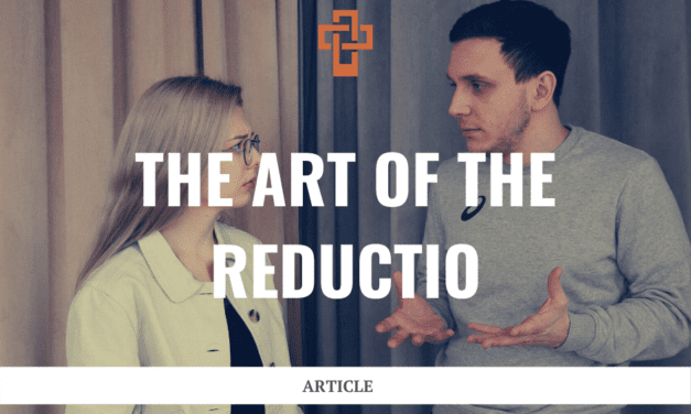 The Art of the Reductio