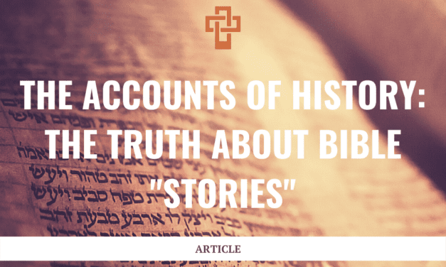 """The Accounts of History: The Truth About Bible """"Stories"""""""