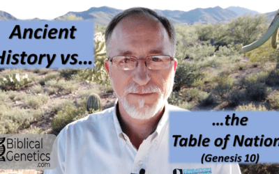 Ancient History vs the Table of Nations